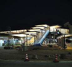 西鉄柳川駅自由通路